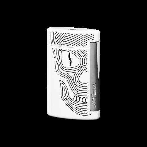 Minijet Torch Flame White Scull