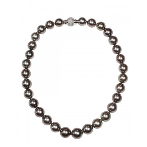 Grey Tahiti Pearl Necklace