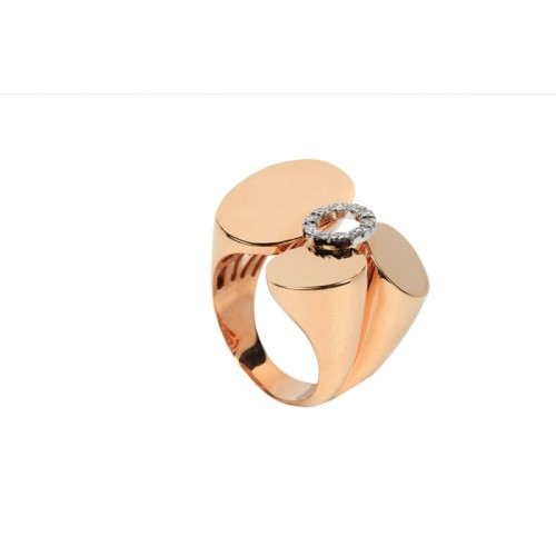 Propeller Diamond Ring