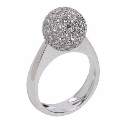 Pavé Diamond sphere  Ring