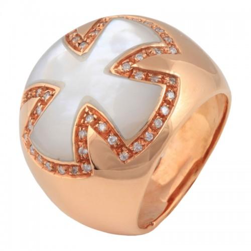 Δαχτυλίδι με Φίλντισι και Διαμάντια