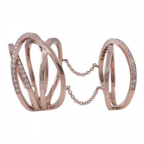 Railway Diamond Ring