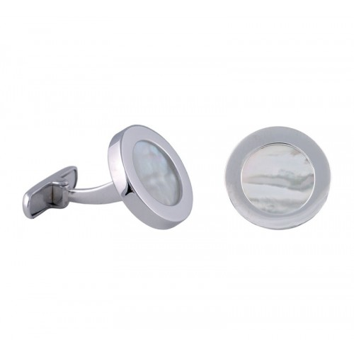 Mother of pearl White Gold Cufflinks