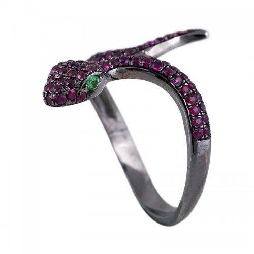 Snake Ruby Ring
