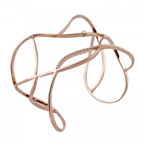 Entangled Diamond Bangle