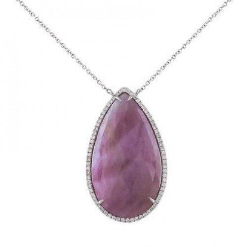 Sapphire & Diamonds Pendant