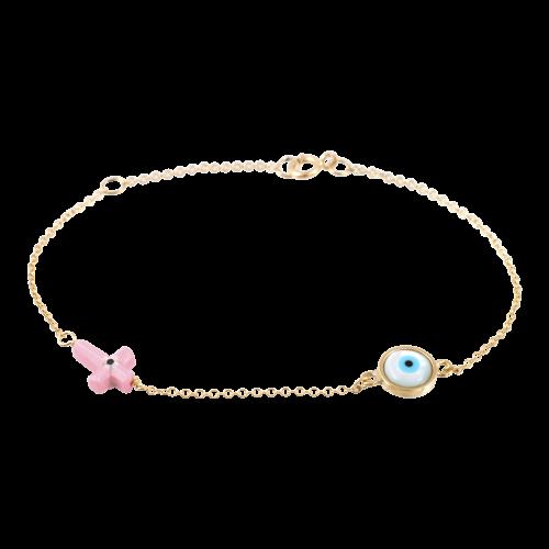 Evil Eye Charms Bracelet