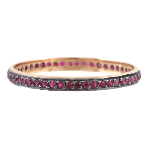 Rubbies Eternity Ring