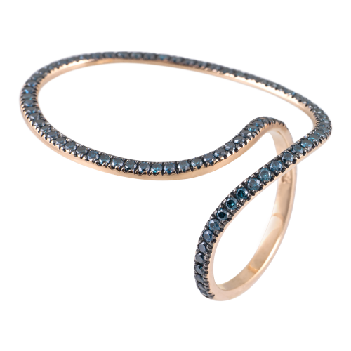 "Blue Diamond ""Thita"" Ring"