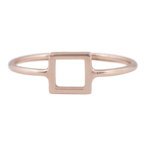 Geometrical Design Rings Collection