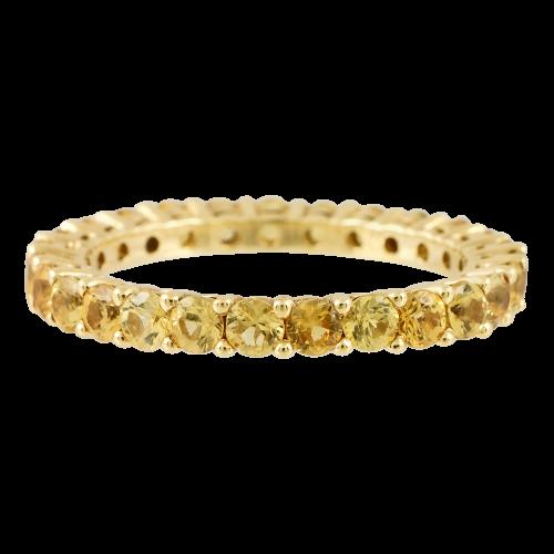 Eternity Sapphire Ring