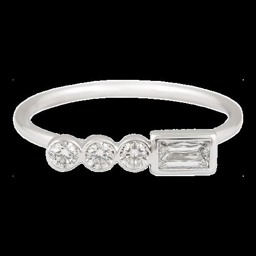 Diamonds Bar Ring