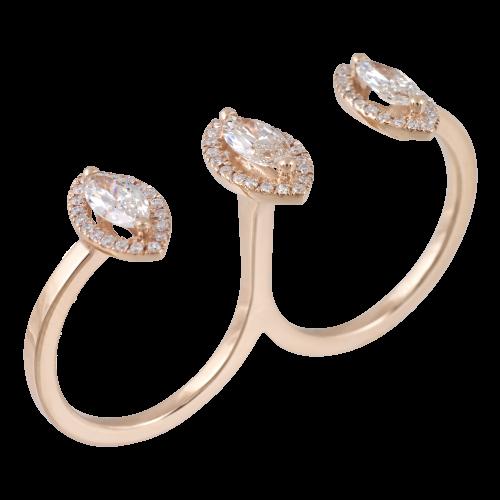 Diamond Knuckles Ring