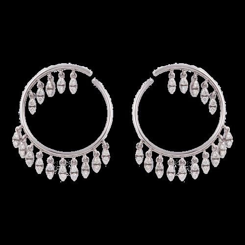 """Diamond """"Dreamcatchers"""" Earrings"""