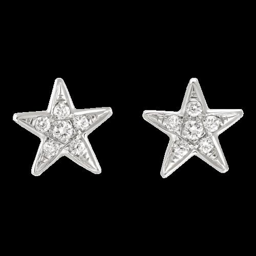 Diamond Stars Earrings