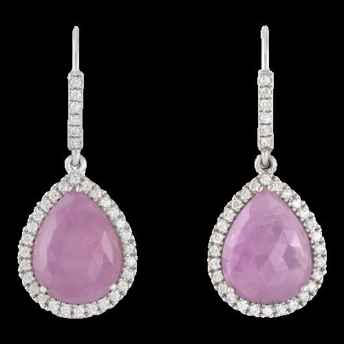 Sapphire & Diamond Hooks