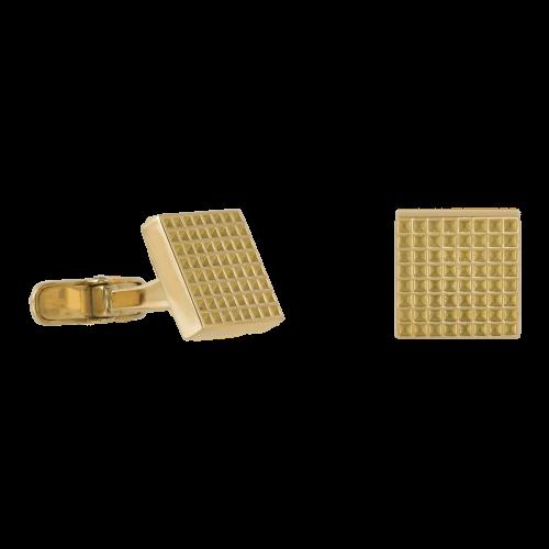 Square shaped 18K Gold cufflinks